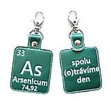 Kľúčenky - Kľúčenka prvok As-spolu (o)trávime deň - 13494042_