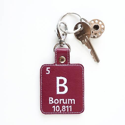 Kľúčenka prvok B-dám ti figu bórovú