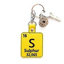 Kľúčenky - Kľúčenka prvok S-mám výbušnú povahu - 13493960_