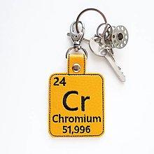 Kľúčenky - Kľúčenka prvok Cr-vyfarbil som sa - 13494034_