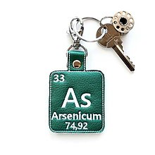 Kľúčenky - Kľúčenka prvok As-spolu (o)trávime deň - 13494043_