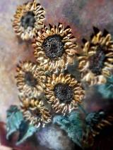 Obrazy - Poľné kvieťa, slnečnice - 13469815_