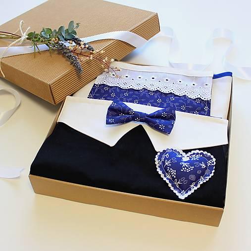 Darčekový set pre pár ♥ BLUE LOVE