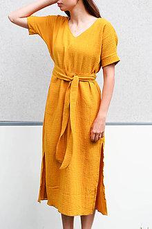 Šaty - Mušelinove šaty 2v1_ZĽAVA - 13495874_