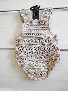Detské oblečenie - Vintage romper - 13495935_