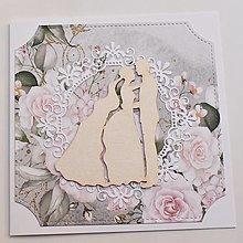 Papiernictvo - Svadobná pohľadnica - 13497034_