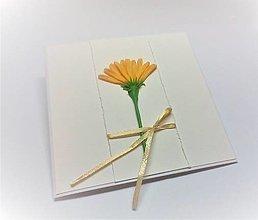 Papiernictvo - Pohľadnica ... uhádni aký som kvet - 13499281_