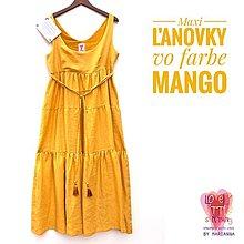 Šaty - Maxi ľanovky Mango - 13497340_