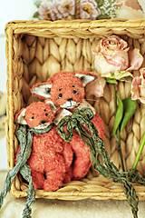 Hračky - Vreckové líšky - 13498285_