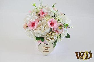 Krabičky - Kvety pre učiteľku - 13498397_
