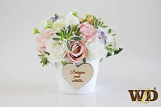 Krabičky - Kvety pre učiteľku - 13498404_