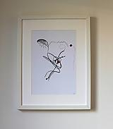 Obrazy - gone . kresba ceruzou/pastelkami/fixou . A4 - 13498412_