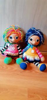 Hračky - Strapatá bábika - 13500165_