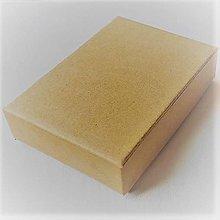 Obalový materiál - Eko krabička 10,5x12,5x1,5cm - 13501617_