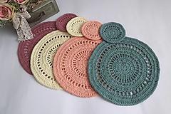 Úžitkový textil - Jarné prestieranie - 13500791_