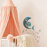 Obrázky - Samolepka na stenu Mother love Small - 13500821_