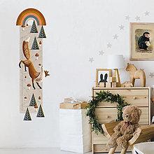 Obrázky - Detský meter na stenu Foxy - 13500746_