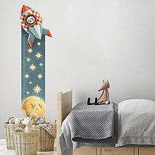 Obrázky - Detský meter na stenu Space Rider - 13500750_