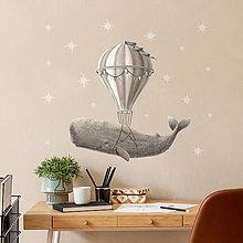 Obrázky - Samolepka na stenu Fly Away Small - 13500804_