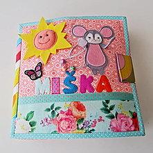 Hračky - Montessori kniha Quiet Book 4 listová pre dieťa - 13500203_