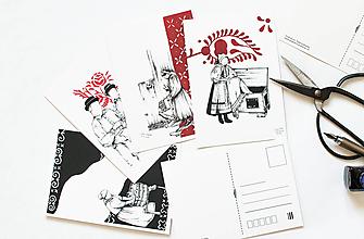 Papier - Pohľadnica - Slovenské tradície - 13502463_