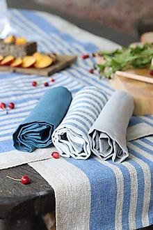 Úžitkový textil - Darčeková súprava ľanových utierok - 13502091_