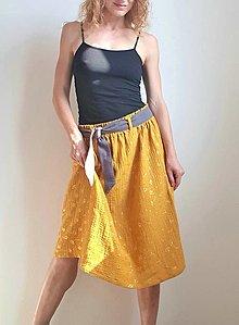 """Sukne - Dámska sukňa """"Sandy"""" so sivým opaskom - 13502936_"""
