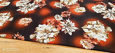 Textil - Kostýmovka - Garden - cena za 10 cm - 13502813_