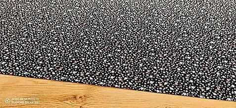 Textil - Kostýmovka -Kvietky farebné- cena za 10 cm - 13502869_