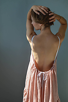 Šaty - Šaty ISABELLA baby pink - 13503019_