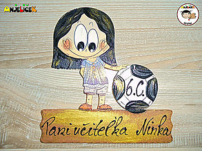 Tabuľky - Menovka - športová - 13503525_