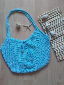 Veľké tašky - Summer Bag ...svetlomodra - 13502708_