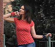Topy, tričká, tielka - Tričko Giana - 13503376_