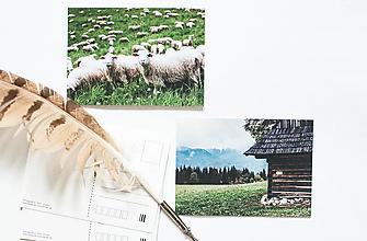 Papier - Pohľadnica - Podšíp - 13502980_
