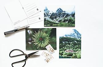 Papier - Pohľadnica - Vysoké Tatry - 13503249_