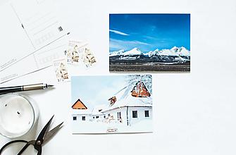 Papier - Pohľadnica - Slovenská zima - 13503270_