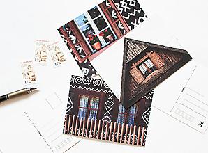 Papier - Pohľadnica - Čičmany - 13503303_