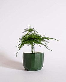 Nádoby - Faceted Pot obal na kvetináč (S) - 13503058_
