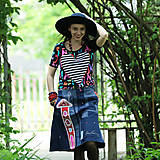 Sukne - Origo sukňoš rifloškový - 13503860_