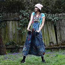 Šaty - Origo šaty denimoš čary mary - 13503486_