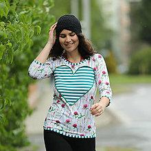 Tričká - Origo tričulko srdce lúka - 13503585_