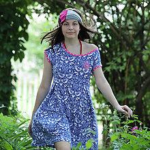 Šaty - Origo šaty puff folk - 13504236_