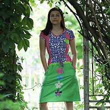 Šaty - Origo šaty vyšívanec - 13504242_