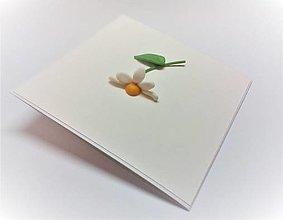 Papiernictvo - Pohľadnica ... margarétka - 13507521_