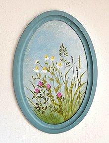 Obrazy - Maľovaný obraz - Vôňa bylín - 13507168_