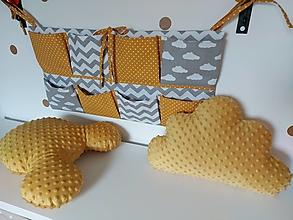 Textil - Vreckár na postieľku - 13505782_
