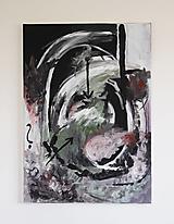 Obrazy - mother's womb . akryl na plátne . abstraktná maľba - 13506937_