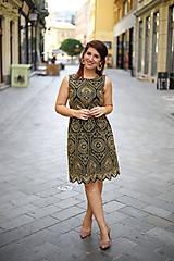 Šaty - ŠATY APRIL - BLACK MADEIRA - 13507112_