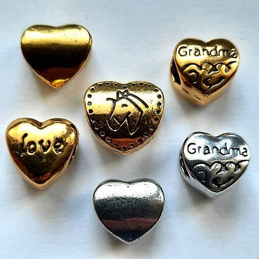Kovové srdce-1ks