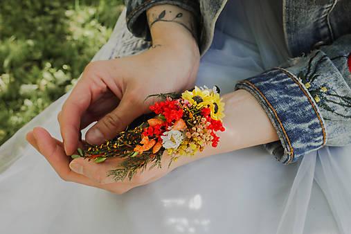 """Kvetinová čelenka """"letné stmievanie"""""""